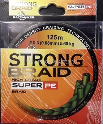 Плетёнка Strong Braid 0,12 mm