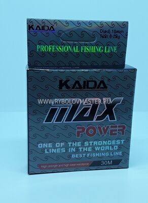 Леска Kaida Max Power 30м 0,14мм